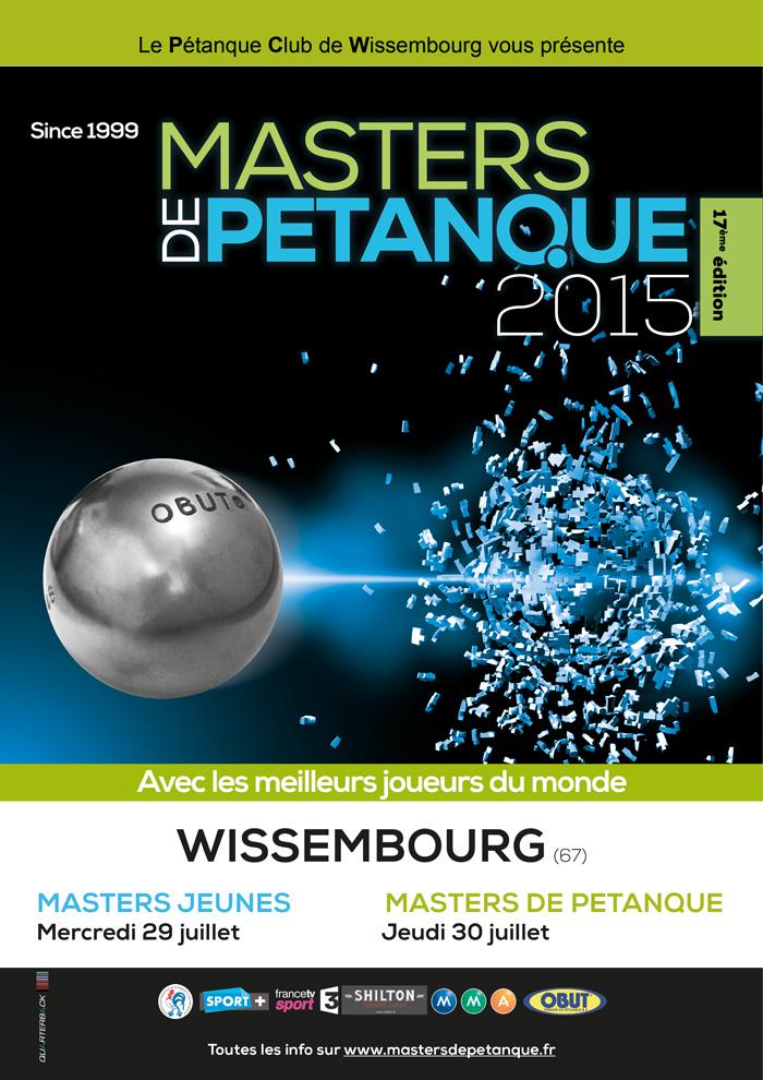 Programme 2015 Master de Pétanque